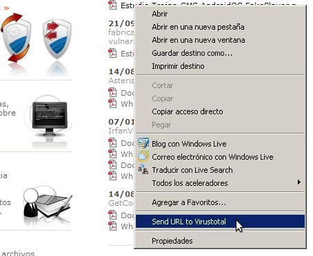 VTexplorer - VirusTotal